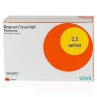 Буденит Стери-Неб, сусп. д/ингал. дозир. 0.5 мг/мл 2 мл №20 ампулы