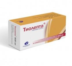 Тиолепта, табл. п/о пленочной 600 мг №60